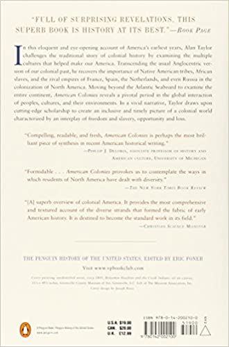 American Colonies: The Settling of North America, Vol. 1: Alan ...