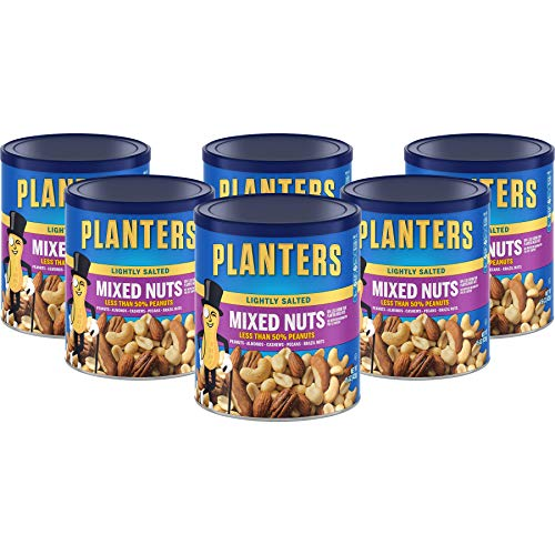 Planters Lightly Salted Mixed Nuts, 15 OZ (Pack - 6)