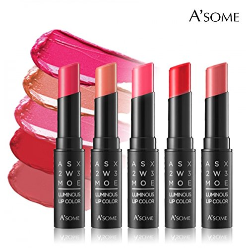 Lavish Lipstick - A'some Luminous Lip Color, Long Lasting Moisturizing Lipstick - Lavish Coral