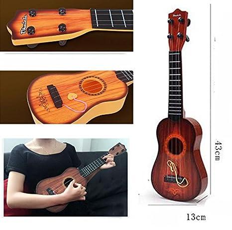 Amazon.com: East Majik Childrens Toys Guitar Youkiri Musical Instruments Kids Toy Beginner Guitar: Toys & Games