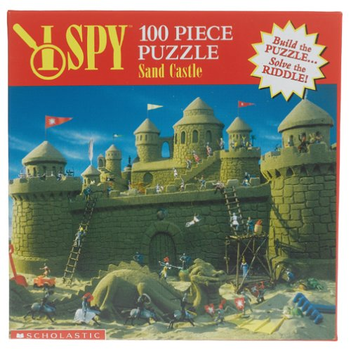 - I SPY Sand Castle Jigsaw Puzzle 100pc