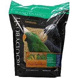 RoudyBush Daily Maintenance Bird Food, Small, 10-Pound
