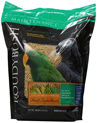 RoudyBush Daily Maintenance Bird Food, Small, 10-Pound ()