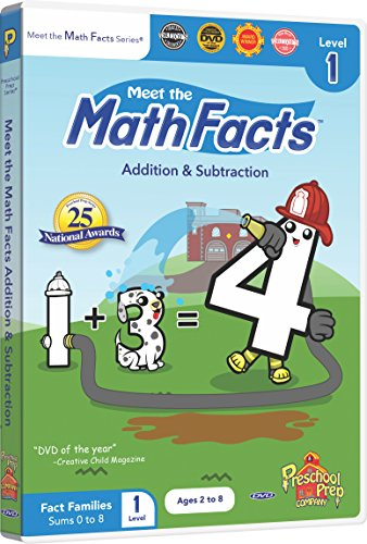 (Meet the Math Facts Addition & Subtraction Level 1 DVD)