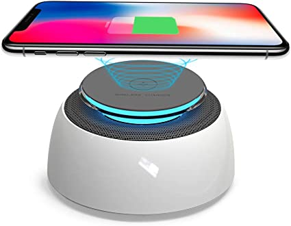 SUSYTA Fast Wireless Charger,Wireless Charging Stand Compatible for iPhone Xs MAX/XR/XS/X/8/8 Plus,10W Compatible for Samsung Galaxy Note 9/S9/S9 ...