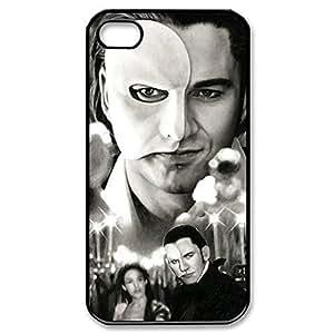 Elegant Design Hard Case Back Cover Case Phantom of the Opera for iphone 5 5s 4G -Black031208