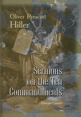 Read Online Sermons on the Ten Commandments pdf