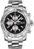 Breitling Men's BTA1337111-BC29SS Super Avenger II Analog Display Swiss Automatic Silver Watch