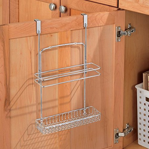 kitchen cabinet caddy kitchen storage the door basket organizer shower 18292