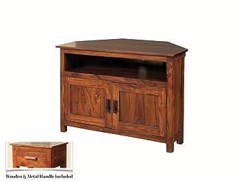 the one sheesham meuble tv dangle en palissandre indien thakat meuble d