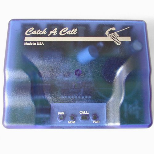 Catch-A-Call Telephone Line Sharing Device for Phone, Fax, and Internet