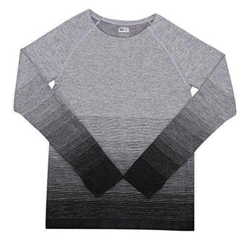 Brightup - Camisa deportiva - para mujer negro