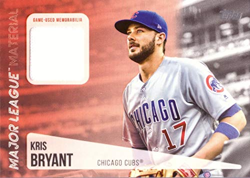 Amazon.com  2019 Topps Major League Materials Relics  MLM-KB Kris Bryant  Game Worn Cubs Jersey Baseball Card - White Jersey Swatch  Collectibles    Fine Art 6029c76a0