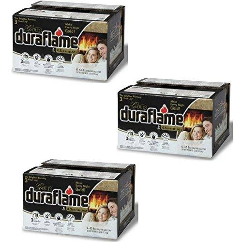 (Duraflame 4577 Ultra-Premium Firelogs, 4.5-Pound, 18-Pack)