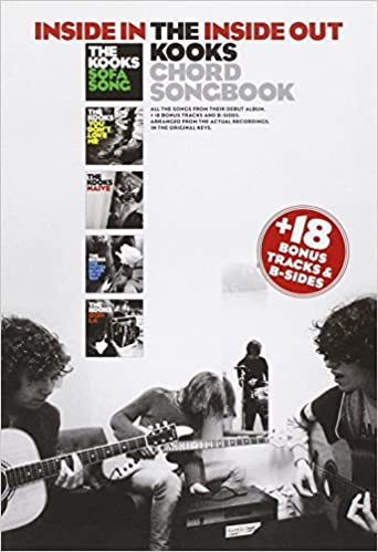 The Kooks Inside Ininside Out Chord Songbook Amazon
