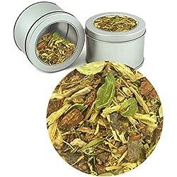 Ayurvedic Relaxing Vata Tea Organic Pure Herbal Loose Tea Leaves (Buy 1 Get 1)Tea Leaves ( Makes 40 Cups) 2.82 oz By Nargis