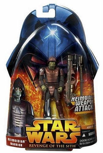 Star Wars Episode III 3 Revenge of the Sith NEIMOIDIAN WARRIOR with Weapon Attack Action Figure #42 -