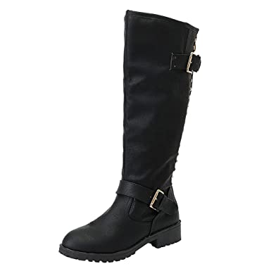 7373ebad6ba Amazon.com: Knee High Boots For Women Wide Calf Wide Foot Liraly ...