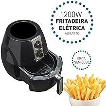 Fritadeira Elétrica Sem Óleo Agratto Fryer 2,5 Litros 220V