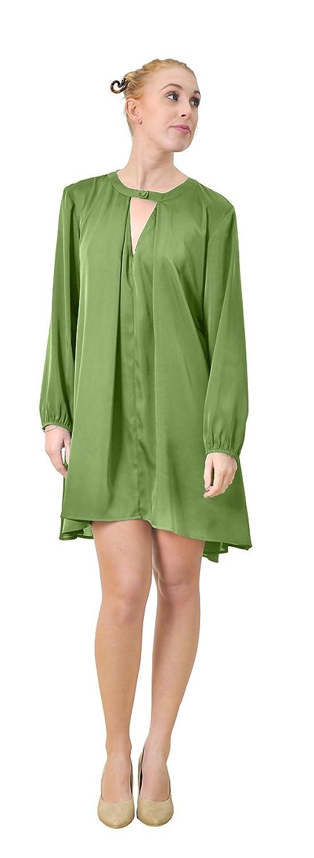 Marycrafts Womens Tunic Tent Trapeze Oversize Large Wide Shirt Dress