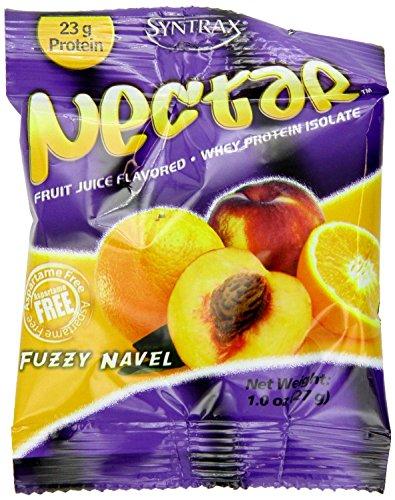 Syntrax Nectar Grab N Go, Fuzzy Navel, 1-ounce Pouches