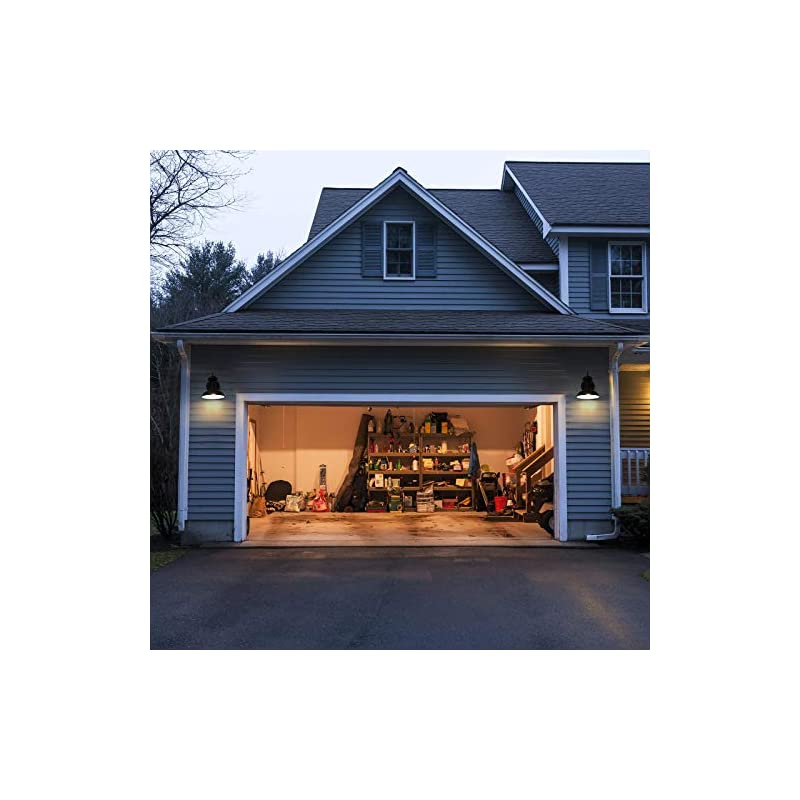 Hykolity Dusk to Dawn Sensor Outdoor Wall Light, Exterior Wall Lantern Anti-Rust Porch Lights, Oil Rubbed Bronze Coach…