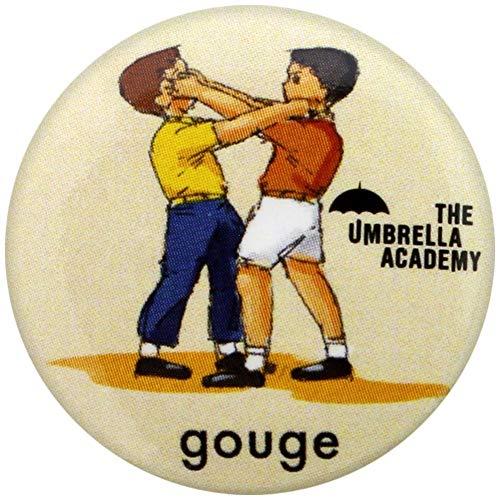 - The Umbrella Academy Badges, Multicoloured, 25mm Dia