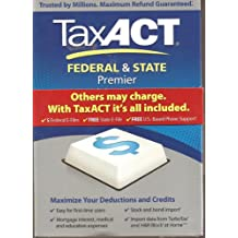 Tax Act Federal & State Premier 2011 Tax Software