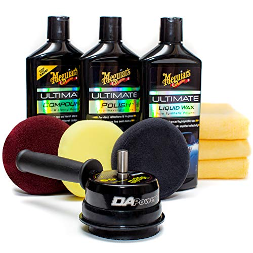 Buffer Kit - Meguiar's G55107 Dual Action Power System Kit - Get Professional Results When Detailing