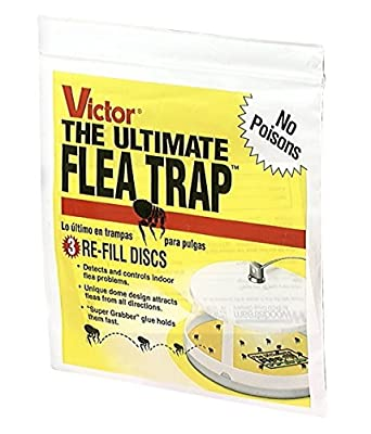 Victor M231 Ultimate Flea Trap Refills Super Savings Pkg Of 9 Refills Total