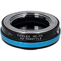 Fotodiox MD-NX-Pro-NDThrtl Vizelex ND Throttle Lens Mount Adapter - Minolta Rokkor SLR Lens To Samsung NX Mount Mirrorless Camera Body with Built in Variable ND Filter