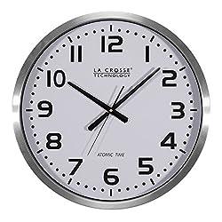 La Crosse Technology 404-1220 20 inch Extra Large Atomic Wall Clock
