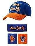 John Cena Respect Earn It Baseball Hat Headband Wristband Set