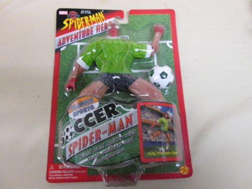 Buy cheap soccer spider man classic sport adventure hero from marvel toy biz