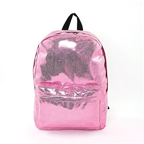 ashley-m-shiny-glitter-metallic-vinyl-laptop-backpack-pink