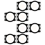 Theater Solutions RK6C In Ceiling Installation Rough In Kit for 6.5'' Speakers 4 Pair Pack