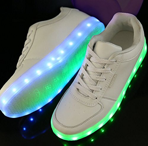 led light up shoes all white mens 5 in the uae see prices reviews and buy in dubai abu. Black Bedroom Furniture Sets. Home Design Ideas