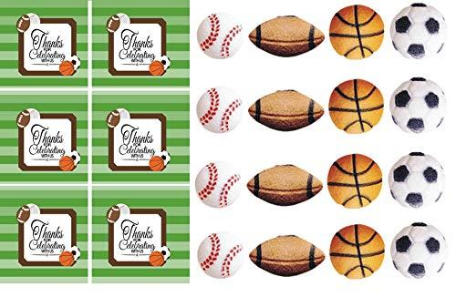 6 OR 8 SkewerStir Stick Set of 24Pcs Fruit Skewer Donut Holes Birthday Paintball Cupcake Toppers Drink Stir Stick