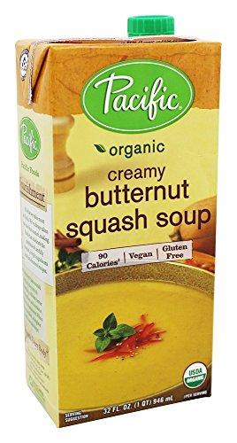 - Pacific Natural Foods Creamy Butternut Squash Soup, 32 oz - 2 pk