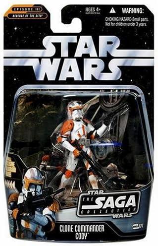 Clone Commander Cody 2006 STAR WARS Saga Collection MOC 024 24