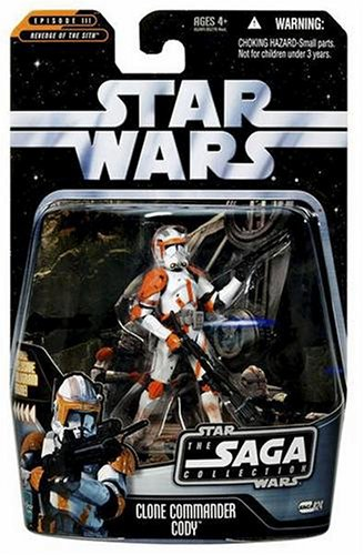 - Star Wars - The Saga Collection - Episode III Revenge of The Sith - Basic Figure - Commander Cody
