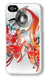 Creative Illustration Color Custom iphone 5c iphone 5c Case Back Cover, Snap-on Shell Case Polycarbonate PC Plastic Hard Case Transparent
