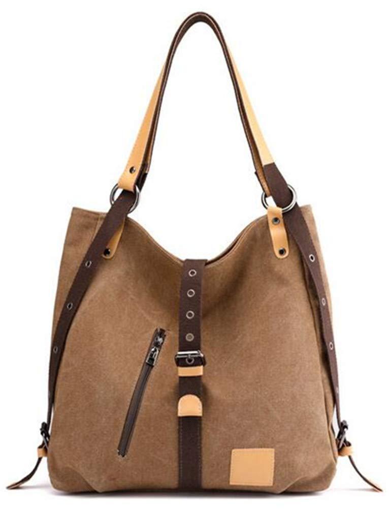 Xue li zhou Damen Casual Multifunktions-Eimer Tasche schräg Canvas Bag