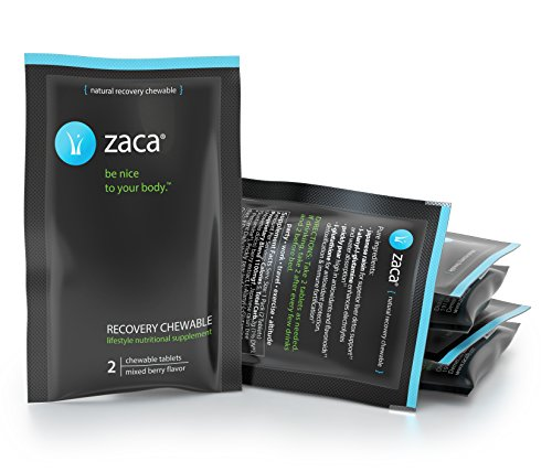 Zaca Recovery Chewable Supplement | Remedy for Hangovers