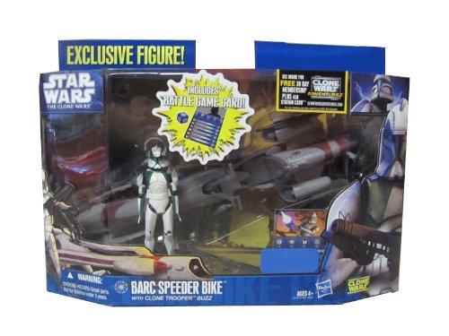 2011 Star Wars Clone Wars : BARC Speeder Bike with Clone Trooper Buzz