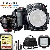 Canon EOS C200 Cinema Camera w/ 14mm Lens + 128GB SD Card Base Kit -  6Ave