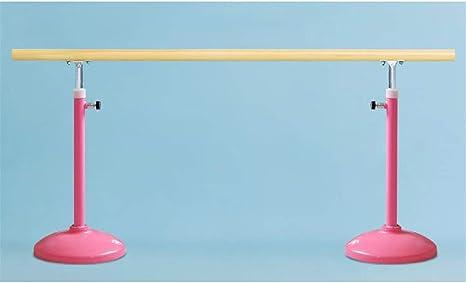 BuoQua 1.5m Ballet Barres Free Standing 5FT Single Portable Freestanding Ballet Bar Dancing Stretching Barre for Home Dance Barre Fitness Gymnastics Ballet Bar