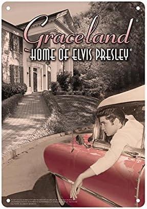 Elvis Presley Tin Sign