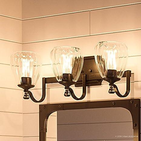 more photos 6fe44 c8975 Luxury Crystal Bathroom Vanity Light, Medium Size: 7.5
