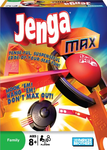 Amazoncom Parker Brothers Jenga Max Toys Games